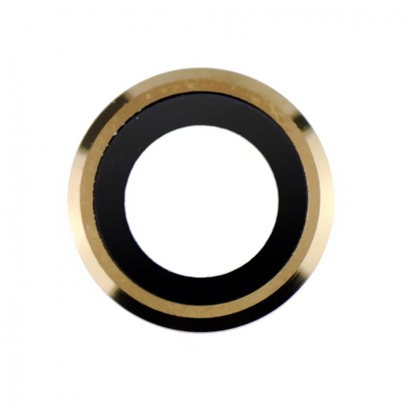 AppleKing Čočka fotoaparátu s rámečkem a LED difuzorem pro iPhone 6 Plus - zlatá - možnost vrátit zb
