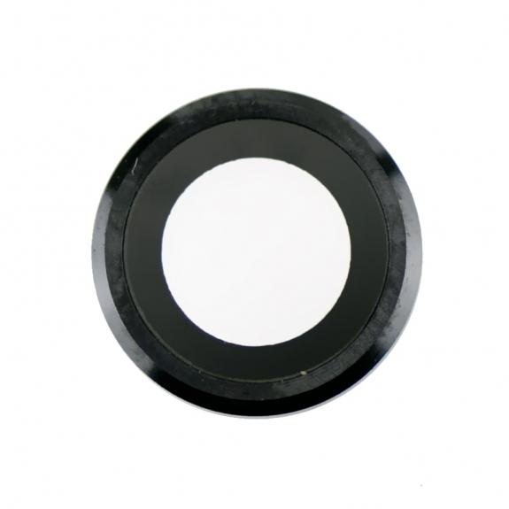 AppleKing Čočka fotoaparátu s rámečkem a LED difuzorem pro iPhone 6S Plus - černá - možnost vrátit z