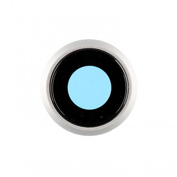 AppleKing Čočka fotoaparátu pro iPhone 8 - bílá - možnost vrátit zboží ZDARMA do 30ti dní