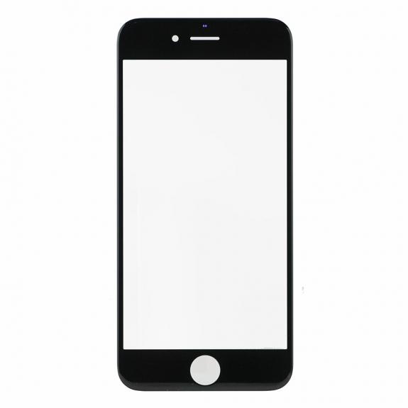 AppleKing přední dotykové sklo, včetně OCA lepidla, POL filmu, rámečků pro přední fotoaparát, proximity sensor a mřížky pro sluchátko, pro iPhone SE - černá - možnost vrátit zboží ZDARMA do 30ti dní