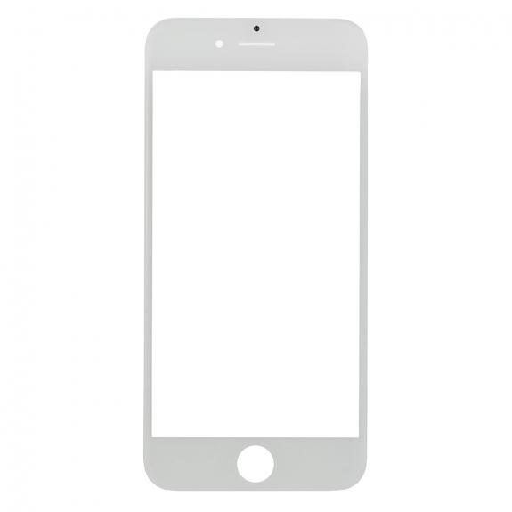 AppleKing přední dotykové sklo, včetně OCA lepidla, POL filmu, rámečků pro přední fotoaparát, proximity sensor a mřížky pro sluchátko, pro iPhone SE - bílá - možnost vrátit zboží ZDARMA do 30ti dní