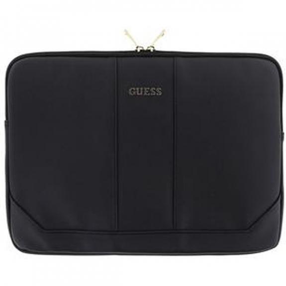 """Guess Saffiano pouzdro pro MacBook 13"""" - černá 3700740376089 - možnost vrátit zboží ZDARMA do 30ti dní"""