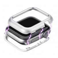 Magnetické kovové pouzdro pro Watch - 44mm - stříbrná