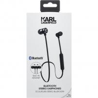 Karl Lagerfeld Bluetooth bezdrátová sluchátka - černá