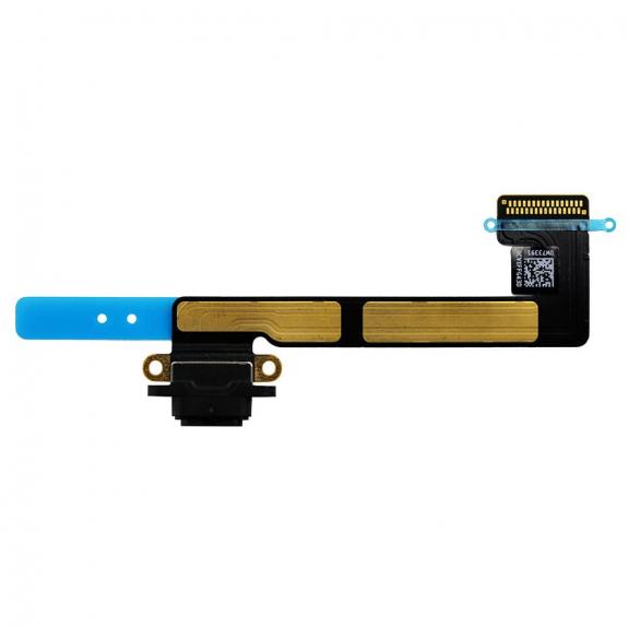 AppleKing flex kabel s napájecím a datovým konektorem pro Apple iPad Mini 3 - černý - možnost vrátit zboží ZDARMA do 30ti dní
