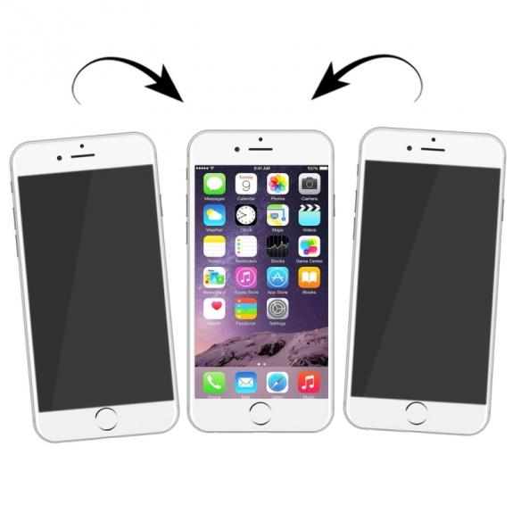 AppleKing ochranná anti-reflexní fólie zajišťující soukromí pro Apple iPhone 7 - možnost vrátit zboží ZDARMA do 30ti dní
