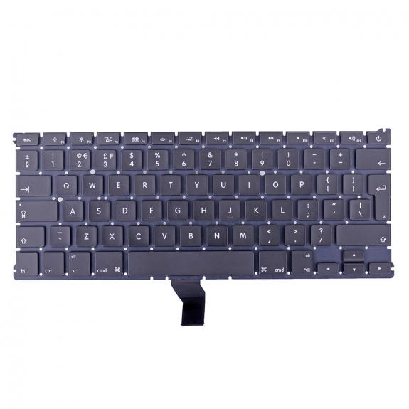 """AppleKing klávesnice pro Apple MacBook Air 13"""" A1369 / A1466 (rok 2011, 2012, 2013, 2014, 2015) - UK verze - možnost vrátit zboží ZDARMA do 30ti dní"""