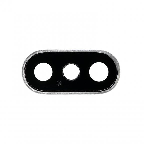 AppleKing náhradní kryt zadní kamery pro Apple iPhone XS Max - stříbrný - možnost vrátit zboží ZDARMA do 30ti dní