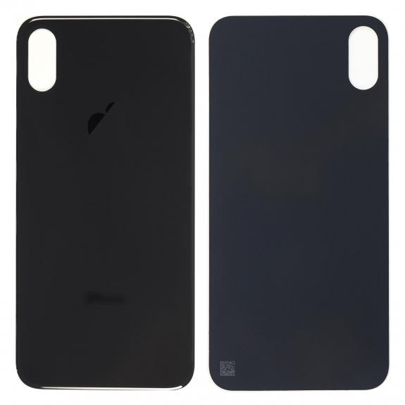 AppleKing náhradní zadní sklo (housing) pro Apple iPhone XS Max - černé - možnost vrátit zboží ZDARMA do 30ti dní