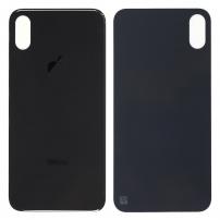 Náhradní zadní sklo (housing) pro Apple iPhone XS - černé