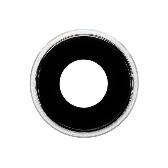 AppleKing náhradní ocelový kruh zadní kamery pro Apple iPhone XR - bílý - možnost vrátit zboží ZDARMA do 30ti dní