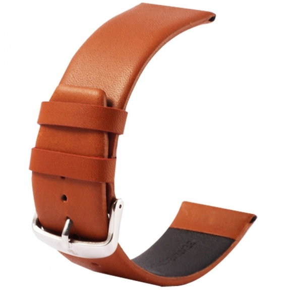 Kakapi kvalitní kožený řemínek s úchyty a sponou pro Apple Watch 42mm - hnědý - možnost vrátit zboží ZDARMA do 30ti dní