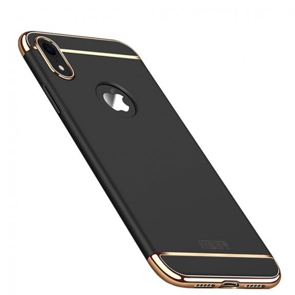 MOFI luxusní kryt pro iPhone XR - černá - možnost vrátit zboží ZDARMA do 30ti dní