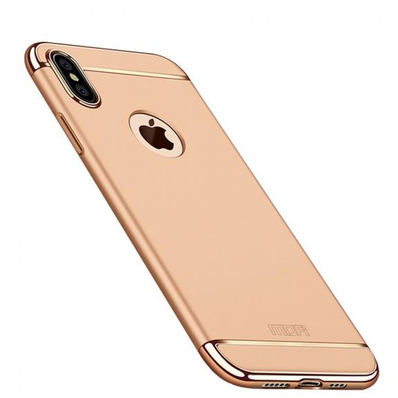 MOFI luxusní kryt pro iPhone XS Max - zlatá - možnost vrátit zboží ZDARMA do 30ti dní