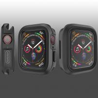 Silikonové pouzdro pro Watch 44mm - černá