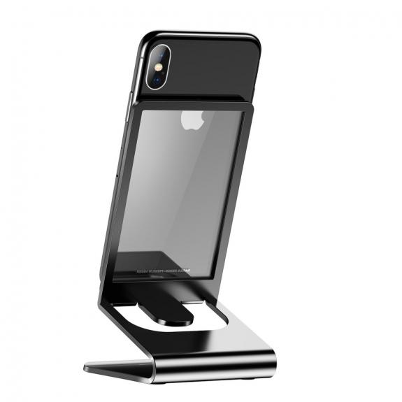 AppleKing bASEUS elegantní stojánek pro iPhone - černá - možnost vrátit zboží ZDARMA do 30ti dní