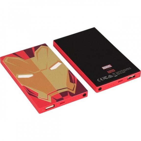 Tribe Marvel Iron Man powerbanka 4000mAh - červená PBD21604 - možnost vrátit zboží ZDARMA do 30ti dní