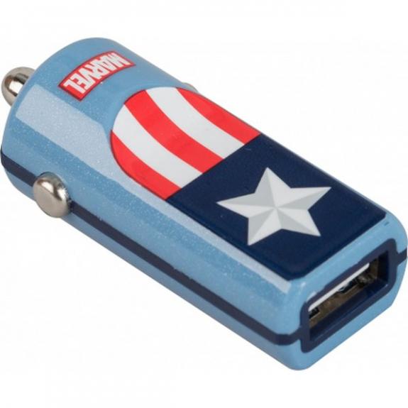 Tribe Marvel Captain America nabíječka do auta - modrá CCR11601 - možnost vrátit zboží ZDARMA do 30ti dní