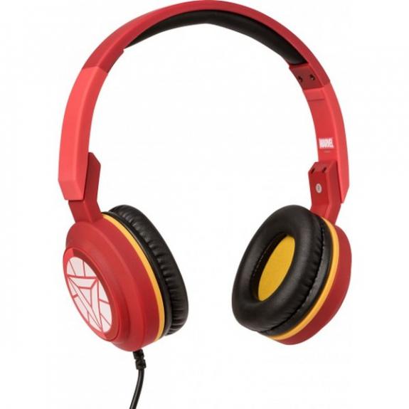 Tribe Marvel Iron Man Pop sluchátka - červená HPW11604 - možnost vrátit zboží ZDARMA do 30ti dní