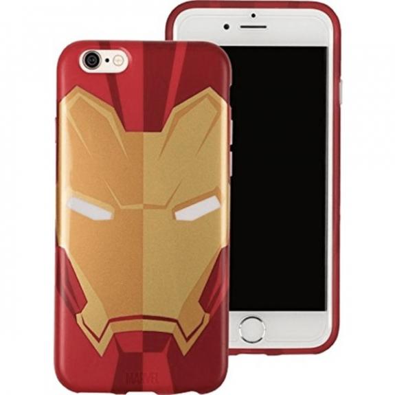 Tribe Marvel Iron Man tenké pouzdro iPhone 7 / 8 - červená CAI31604 - možnost vrátit zboží ZDARMA do 30ti dní