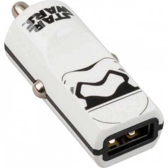 Tribe Star Wars Stormtrooper nabíječka do auta - bílá CCR13001 - možnost vrátit zboží ZDARMA do 30ti dní