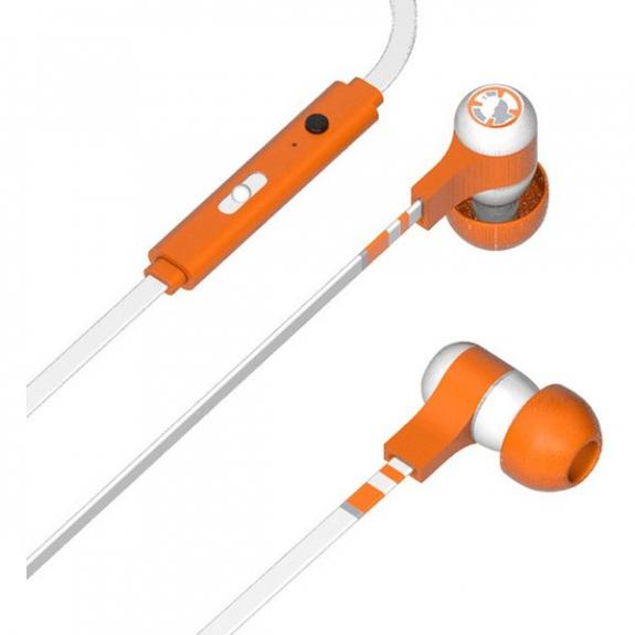 Tribe Star Wars BB-8 Swing sluchátka - bílá / oranžová EPW13004 - možnost vrátit zboží ZDARMA do 30ti dní