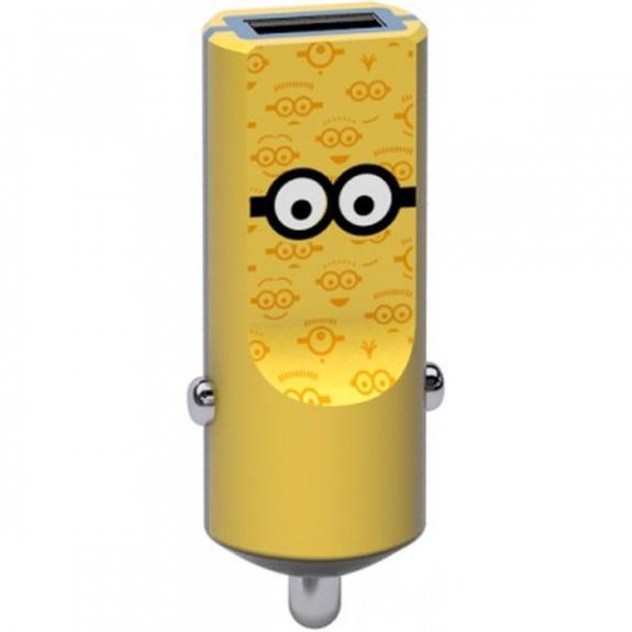 Tribe Minions Tom nabíječka do auta - žlutá CCR12101 - možnost vrátit zboží ZDARMA do 30ti dní