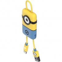 Tribe Minions Carl Lightning kabel Keyline přívěšek na klíče - 22cm - žlutá