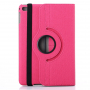 Pouzdro / kryt otočným držákem a prostorem na doklady pro iPad mini 4 - růžové