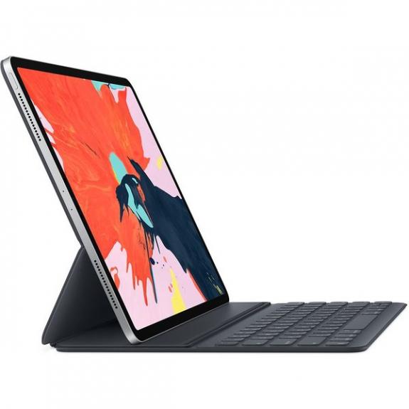 """Originální Apple iPad Pro 12,9"""" Smart Keyboard Folio pouzdro s americkou klávesnicí - šedá - možnost vrátit zboží ZDARMA do 30ti dní"""