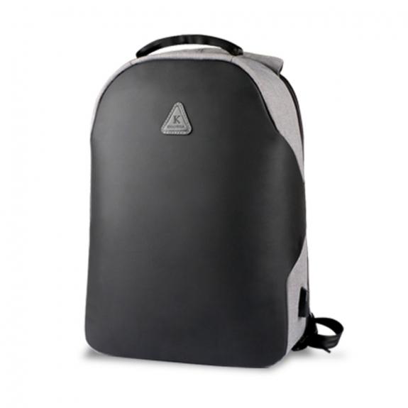 """AppleKing kAKU bezpečnostní batoh 15.6"""" s USB portem - šedá - možnost vrátit zboží ZDARMA do 30ti dní"""