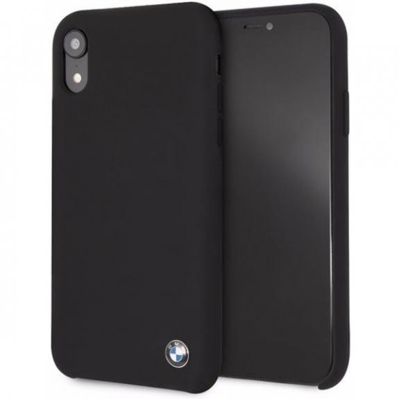 BMW silikonové pouzdro pro iPhone XR - černá 3700740434703 - možnost vrátit zboží ZDARMA do 30ti dní