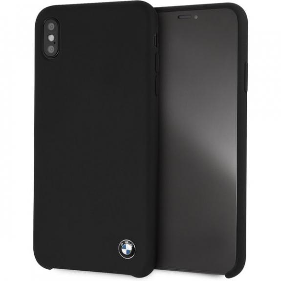 BMW silikonové pouzdro pro iPhone XS Max - černá 3700740434710 - možnost vrátit zboží ZDARMA do 30ti dní