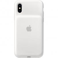 Originální Apple iPhone XS Smart Battery Case zadní kryt s baterií - bílý