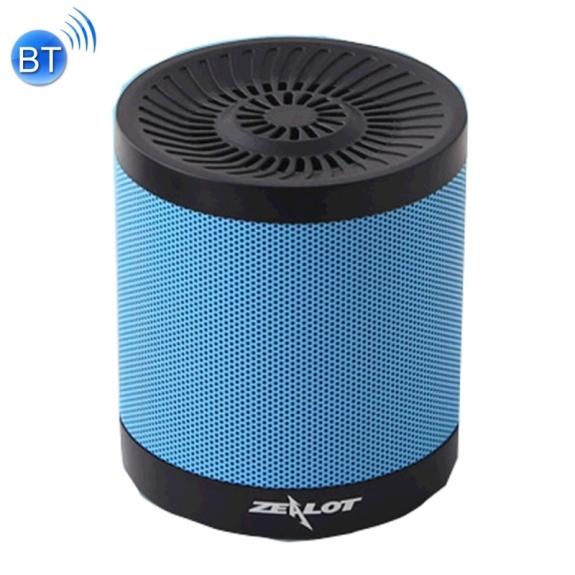 ZEALOT bezdrátový Bluetooth stereo reproduktor s 2000mAh baterií, FM rádiem a slotem pro 32GB paměťovou kartu – modrý - možnost vrátit zboží ZDARMA do 30ti dní