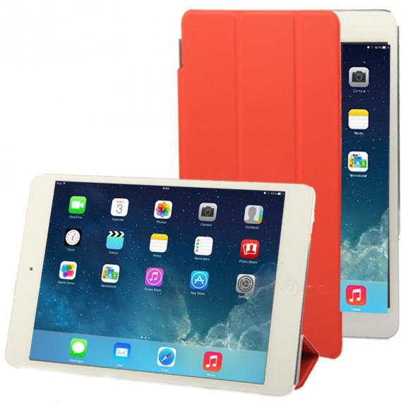 AppleKing smart Cover pro iPad mini / mini 2 / mini 3 - červený - možnost vrátit zboží ZDARMA do 30ti dní