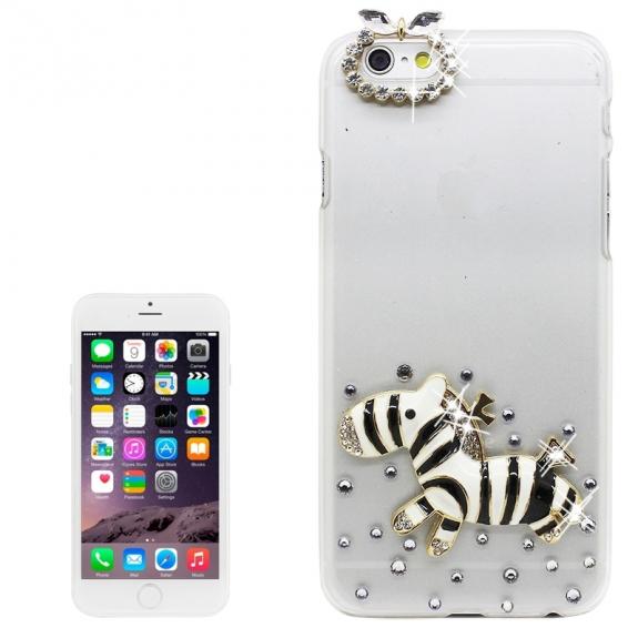 AppleKing luxusní kryt / obal s kamínky ve stylu diamantu pro Apple iPhone 6S / 6 - poník - možnost vrátit zboží ZDARMA do 30ti dní