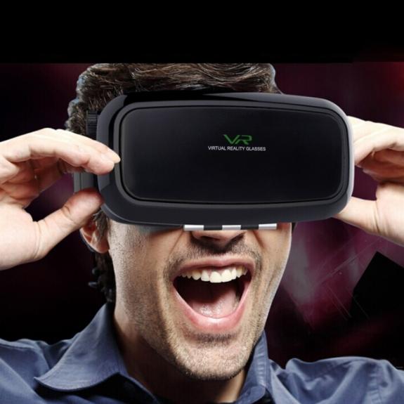 Virtuální brýle VR SHINECON 3D pro Apple iPhone – černé - možnost vrátit zboží ZDARMA do 30ti dní