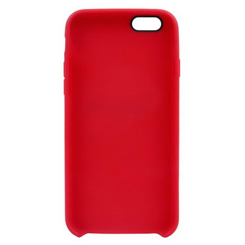 8f8830fe07 ... Protiskluzový matný obal pro Apple iPhone 6   6S - červený ...