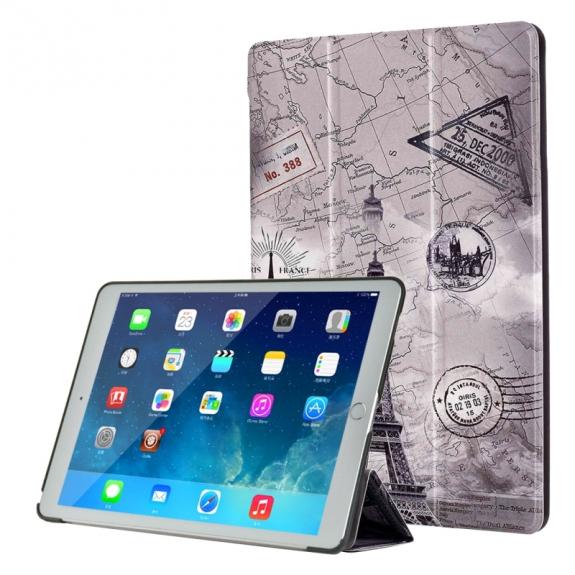 """AppleKing pouzdro / kryt s integrovaným stojánkem pro iPad Pro 9,7"""" - Eiffelovka - možnost vrátit zboží ZDARMA do 30ti dní"""