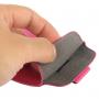 Pouzdro s vytahovacím poutkem pro Apple iPhone 5 / 5S / SE - růžové