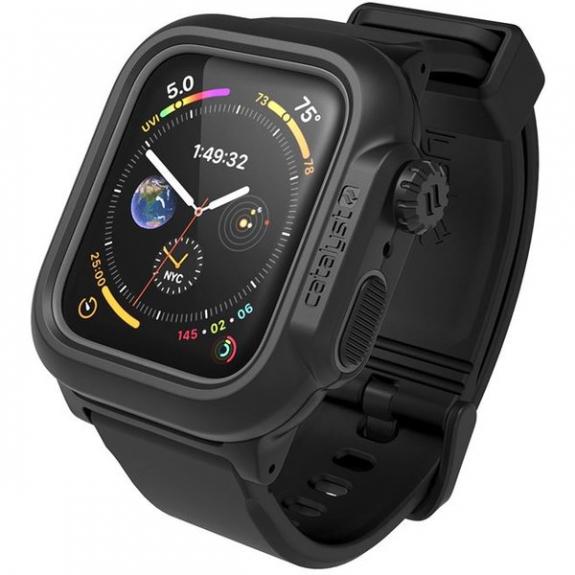Catalyst odolné vodotěsné pouzdro pro Apple Watch 44mm - černé CAT44WAT4BLK - možnost vrátit zboží ZDARMA do 30ti dní