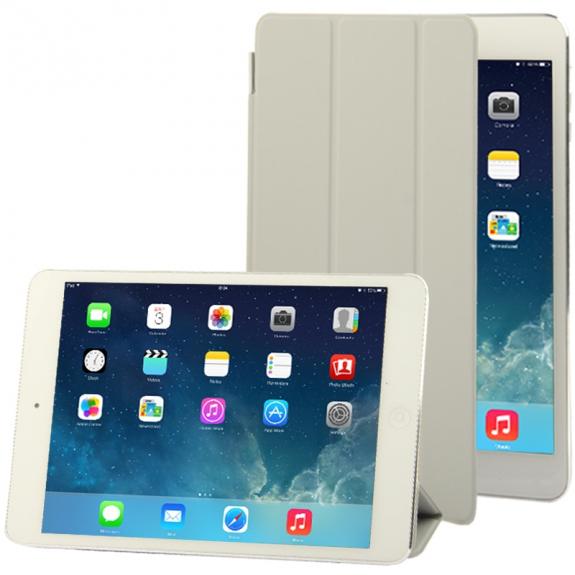 AppleKing smart Cover pro iPad mini / mini 2 / mini 3 - šedý - možnost vrátit zboží ZDARMA do 30ti dní