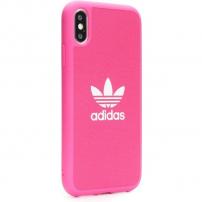 ADIDAS originální kryt z tvrdého plastu pro iPhone XR - růžový