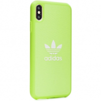 ADIDAS originální kryt z tvrdého plastu pro iPhone XR - zelený