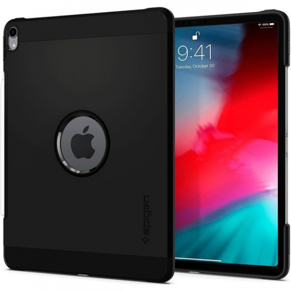 """Spigen Tough Armor odolné pouzdro pro iPad Pro 11"""" - černé 067CS25218 - možnost vrátit zboží ZDARMA do 30ti dní"""