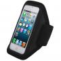 Sportovní pouzdro na ruku pro iPhone 5 / 5S / SE / 4 / 4S - černé