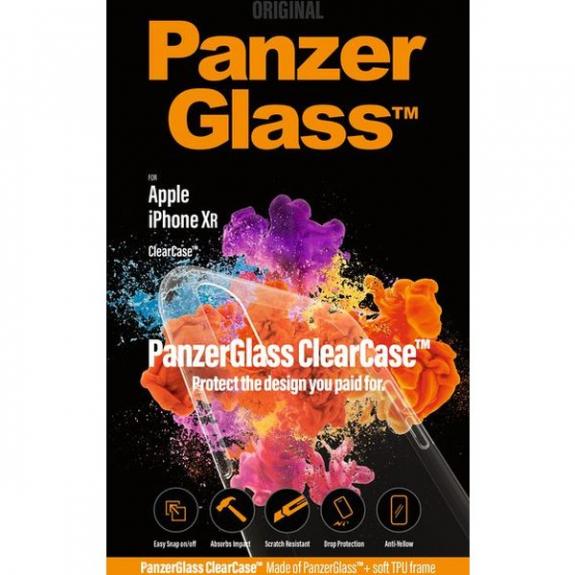 PanzerGlass ochranný kryt pro iPhone XR - čirý 5055737 - možnost vrátit zboží ZDARMA do 30ti dní