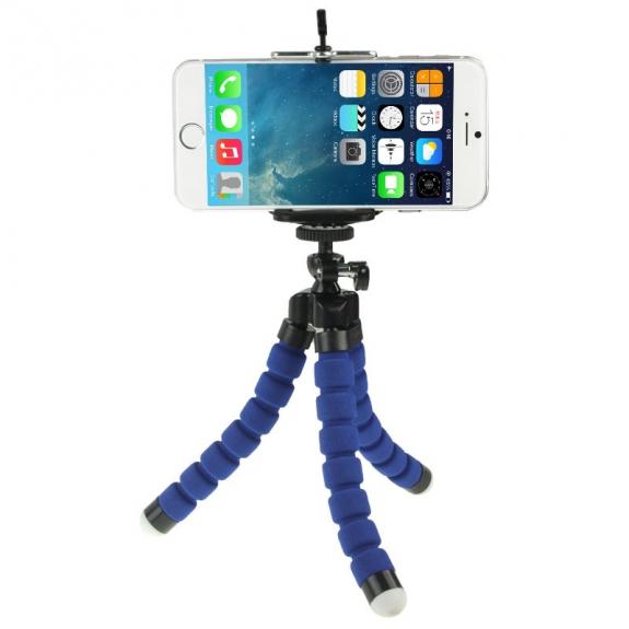 AppleKing univerzální stativ / tripod pro Apple iPhone - modrý - možnost vrátit zboží ZDARMA do 30ti dní