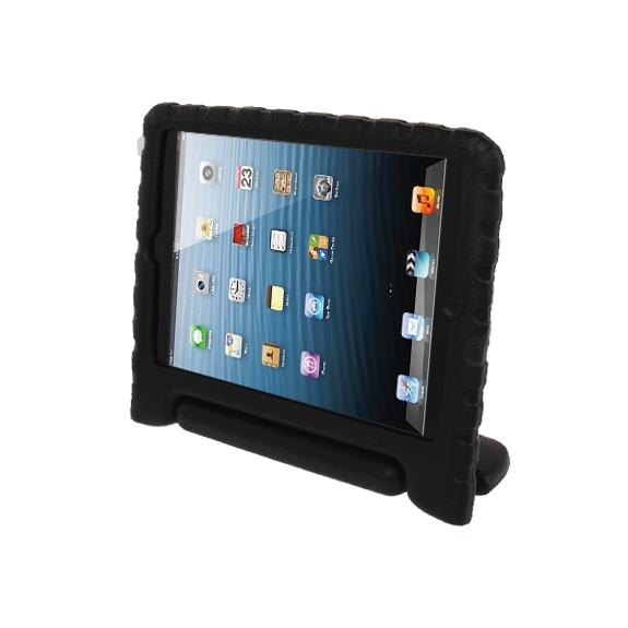 AppleKing pěnový obal odolný proti pádu pro děti na iPad mini / mini 2 Retina – černý - možnost vrátit zboží ZDARMA do 30ti dní